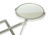 Cosmetic magnifying  mirror isolated on white - 80715344
