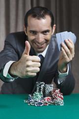 Poker Winner, Businessman, Won In Poker Game