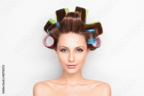 Beauty hairstyle girl