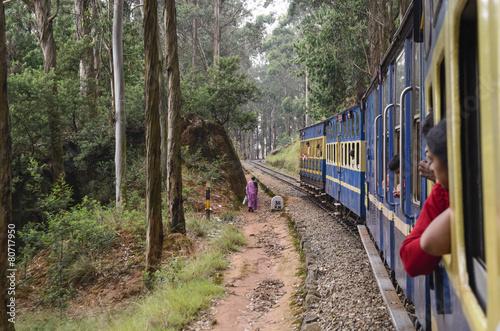 Nilgiri Mountain train to Ooty
