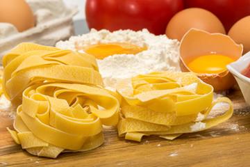 Préparation pâtes