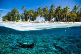 scuba diver island kapoposang indonesia bali lombok