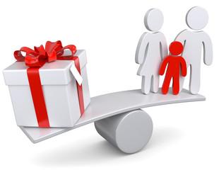 Geschenk Familie