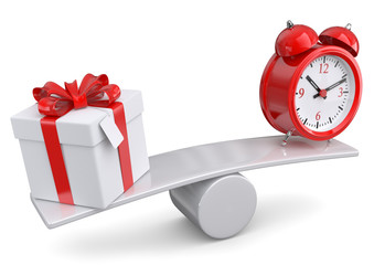 Geschenke kaufen Zeitaufwand