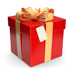 rotes Geschenk