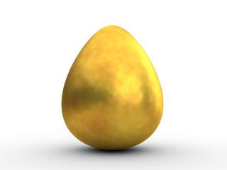 Big golden egg