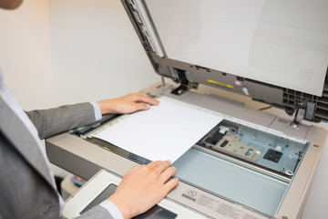 Copying document