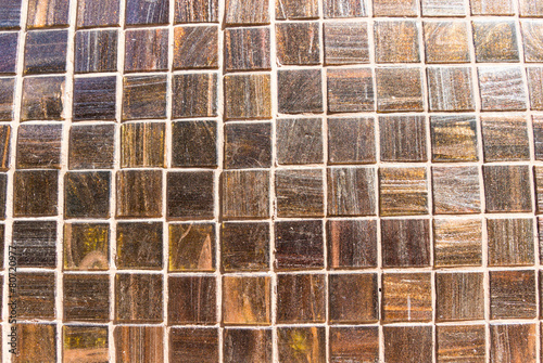 glitter brown tile for texture background