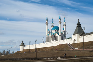 Kazan Kremlin, view of the Kul-Sharif Mosque
