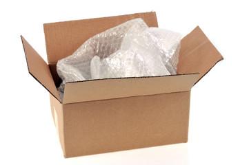 Carton et papier bulle