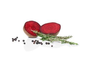 Rote Beete und Thymian