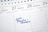Termin Psychotherapie