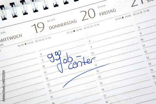 Termin Jobcenter - 80723134