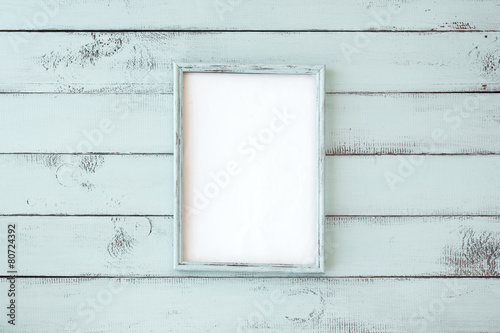 Shabby chic photo frame - 80724392
