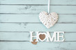 Leinwanddruck Bild - Sweet home