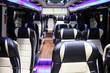 inside of new modern bus - 80724584