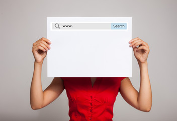 Internet search bar
