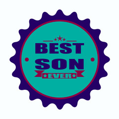 best son ever stamp