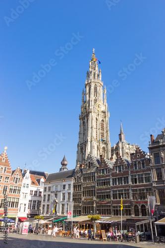 Fotobehang Antwerpen Antwerk, Belgium