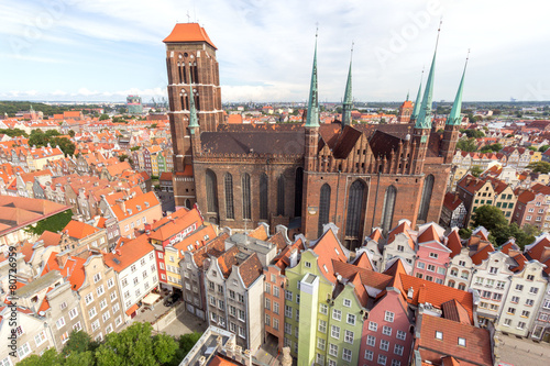 Zdjęcia na płótnie, fototapety na wymiar, obrazy na ścianę : Gdansk, Poland.