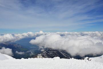 Jungfrau mountain in Switzerland