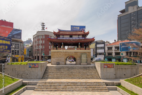south gate of the old Hsinchu city