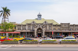 front view of hsinchu train station