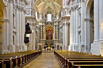 Германия. Мюнхен. Театинеркирхе, Церковь Святого Каетана
