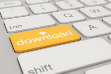 keyboard - download - orange