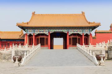 The forbidden city, world historic heritage, Beijing China