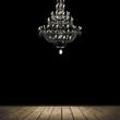 wood chandelier - 80729546