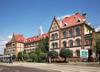 Reformed Teachers College in Debrecen. Hungary