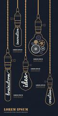 Vintage Bulb Concept Idea Set