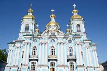 St. Nicholas Naval Cathedral, St. Petersburg.