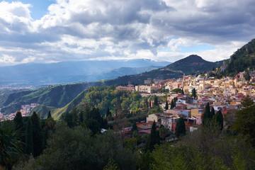 Taormina, Sicily, Italian Island.