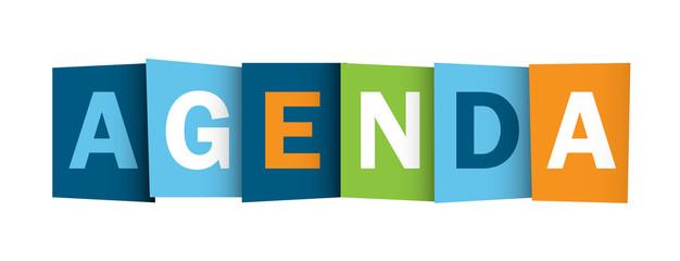 Icône AGENDA (calendrier colloques événements conférence)