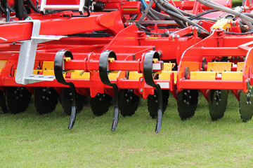 A Brand New Farming Agricultural Soil Cultivator.