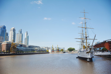 Puerto Madero. Cityscape in Buenos Aires , Argentina