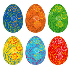 set-of-happy-easter-eggs-with-floral-pattern