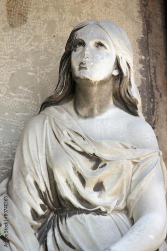 Foto op Plexiglas Standbeeld Fragment os statue of Mary Magdalene