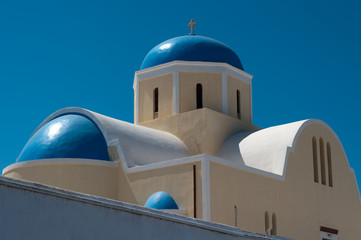 Santorini, chiesa ad Oia 8
