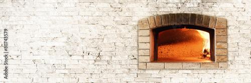 Leinwanddruck Bild Traditional oven