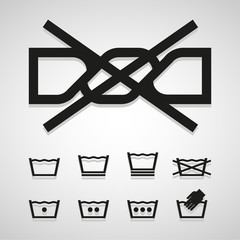 wash icons great for any use. Vector EPS10.