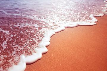 Sea Foam From A Wave