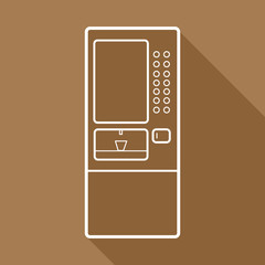 cooler machine icons set great for any use. Vector EPS10.