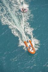 Fun water sports in the summer