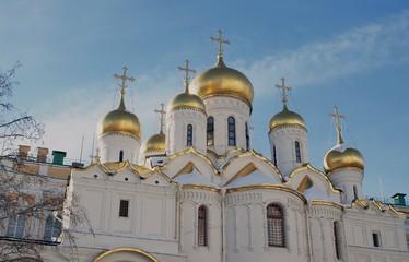 Annunciation church in Moscow Kremlin. UNESCO World Heritage Sit