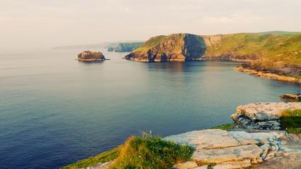 Tintagel coastline