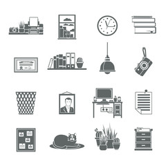 Workplace Icons Set