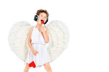 angelic rock singer